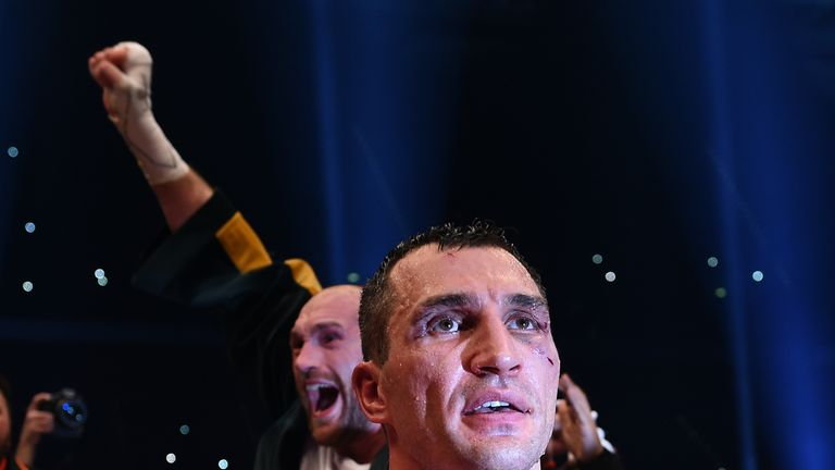 Wladimir Klitschko lost his world titles to Tyson Fury