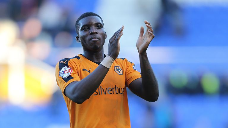 The teenager spent time on loan with Wolves