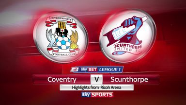 Coventry 1-2 Scunthorpe
