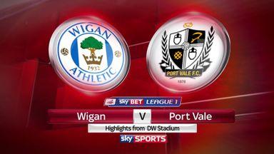 Wigan 3-0 Port Vale