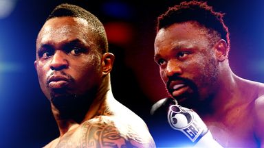 Dillian Whyte (left) and Dereck Chisora may still be on a crash-course