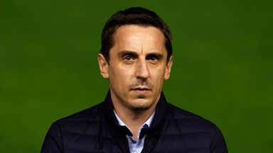 Gary Neville has not won in nine league games in charge of Valencia