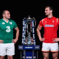 Rory Best and Sam Warburton will battle it out at the breakdown on Sunday