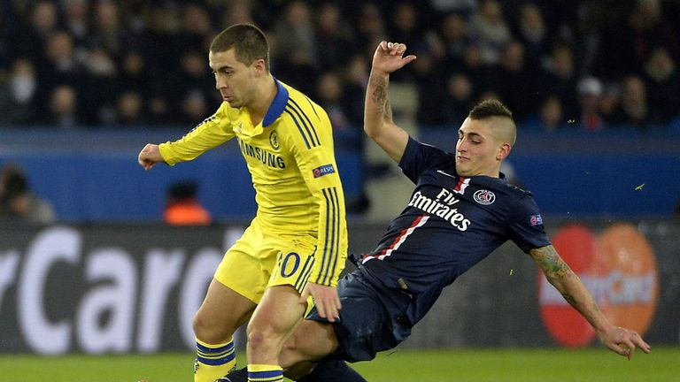 This will be the third straight time Chelsea and PSG have met in the knockout stages
