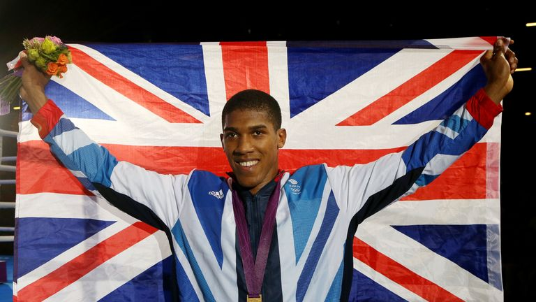 Anthony Joshua defeated reigning Olympic champion Roberto Cammarelle to win gold in London four years ago