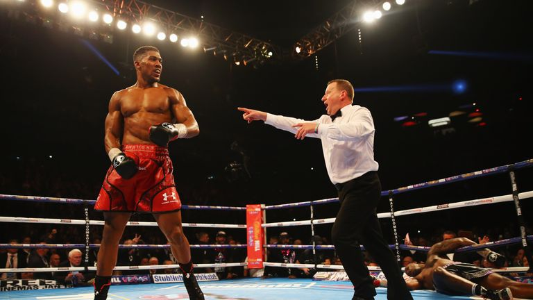 Joshua has knocked out all 15 of his previous opponents at professional level