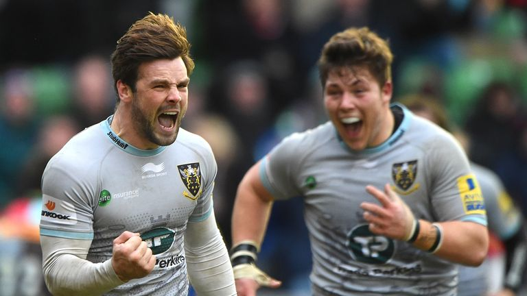 Ben Foden will lead Northampton out