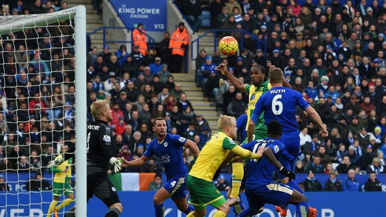 Cameron Jerome squandered a great first-half chance for Norwich