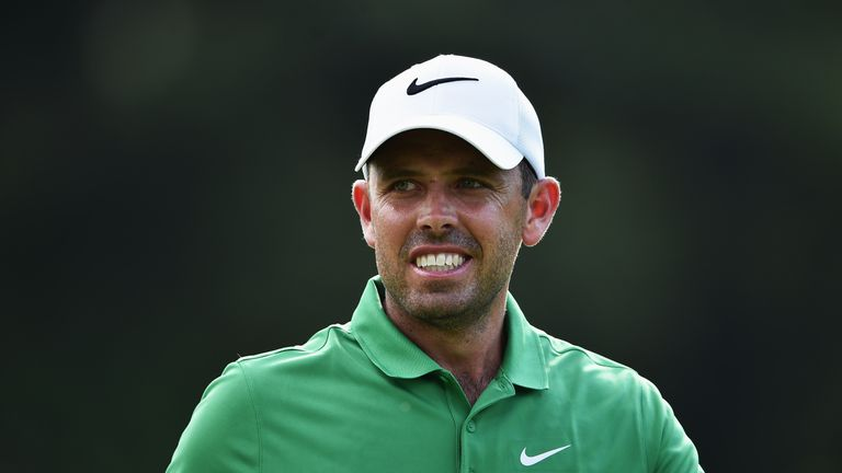 Charl Schwartzel picked up four shots in as many holes on the back nine
