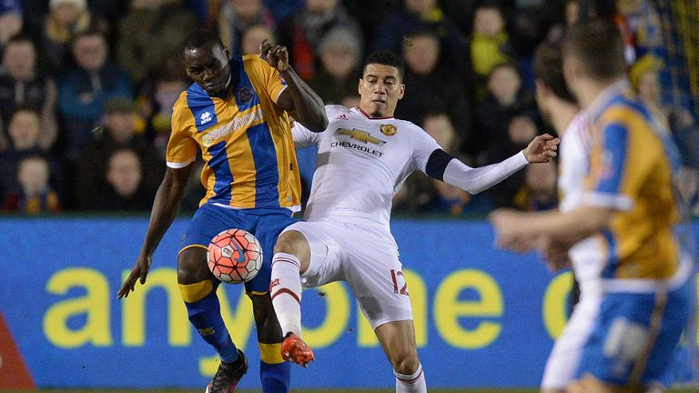 Jermaine Grandison: Could miss out again for Shrewsbury