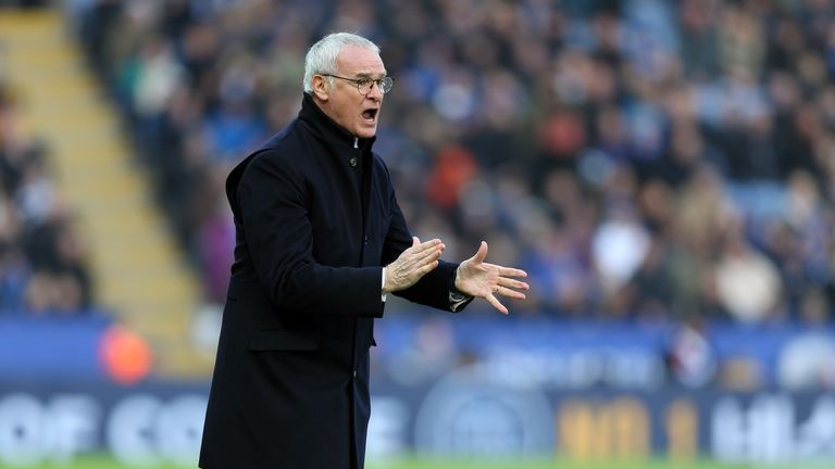 Claudio Ranieri has finished as a league runner-up four times in his managerial career
