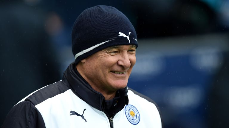 Ranieri is remaining cool as the title race is heating up