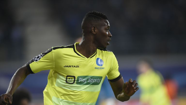 Coulibaly scored Gent's second goal