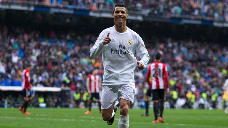 Ronaldo was in scintillating form against Bilbao on Saturday