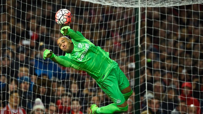 West Ham goalkeeper Darren Randolph made a vital extra-time save from Christian Benteke