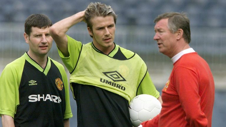 David Beckham says Manchester United's slump was inevitable following the retirement of Sir Alex Ferguson
