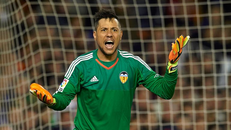 Diego Alves kept Valencia in the match with crucial saves
