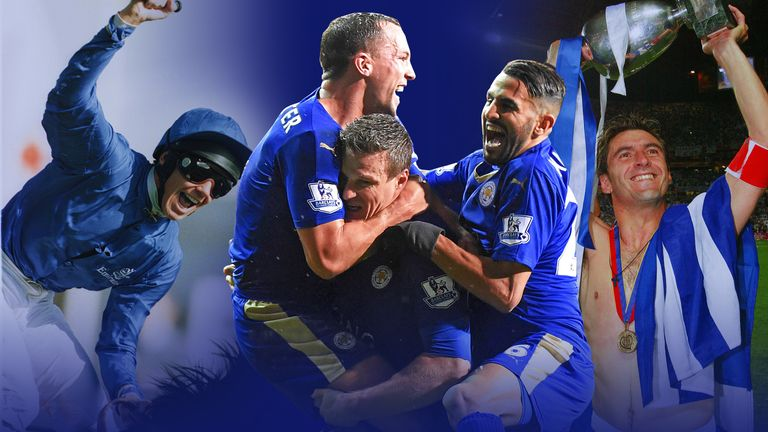 Table-topping Leicester City were 5,000/1 to lift the Premier League back in August, but where would a title-winning turn-up rank among some of sport's  biggest outsider wins?