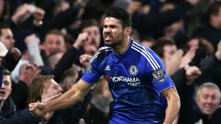 Diego Costa missed Chelsea's draw against Stoke on Saturday