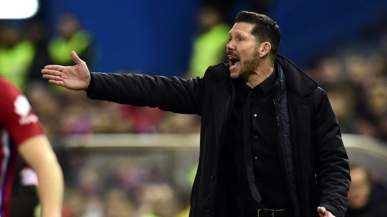 Diego Simeone has impressed as Atletico head coach