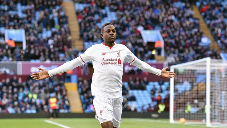 Divock Origi was on the score-sheet in Liverpool's win at Aston Villa