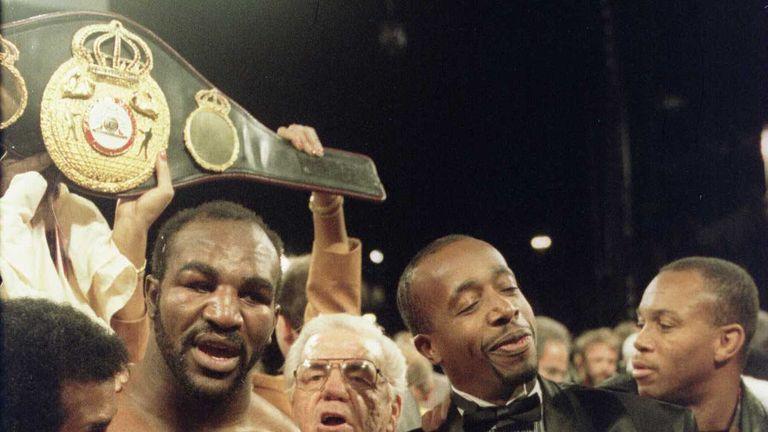 Evander Holyfield won world titles at cruiser and heavyweight