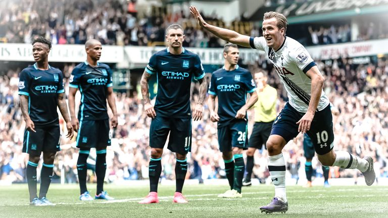 Harry Kane was among the heroes in Tottenham's emphatic win over Man City