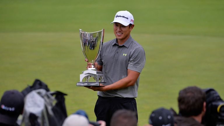 James Hahn took play-off victory last year to claim his maiden PGA Tour title