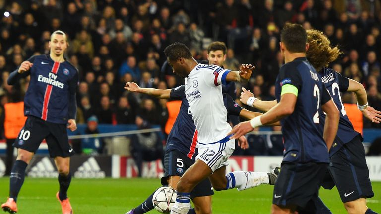 John Obi Mikel fired Chelsea level against PSG