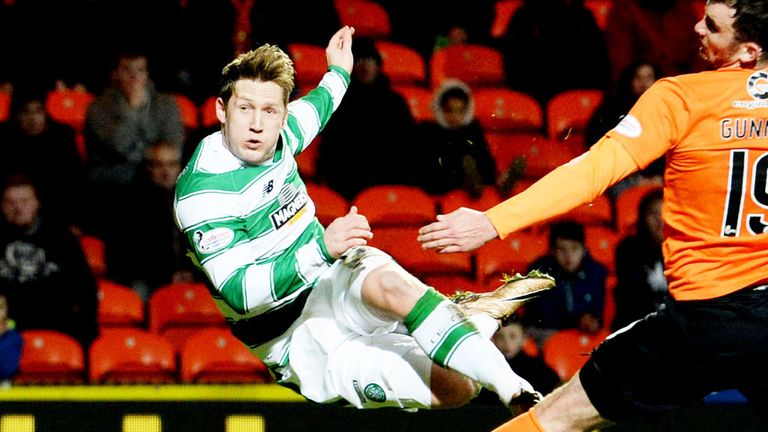 Kris Commons has not played for Celtic since the 4-1 victory over Dundee United