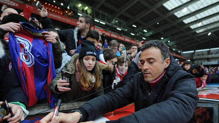 Luis Enrique warns against complacency ahead of Barca's trip to Gran Canaria