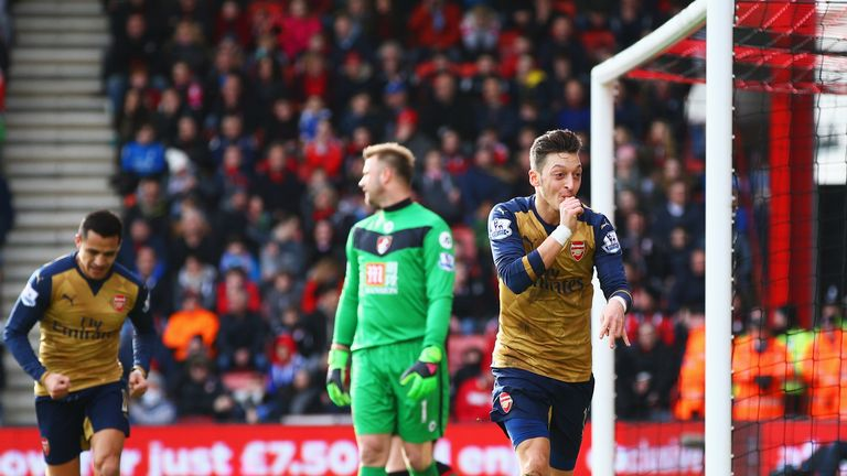 Arsenal ended their four-match winless run at Bournemouth