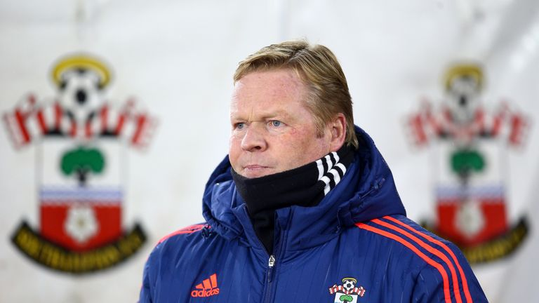 Koeman lost out to Hiddink in the race to take over as Netherlands manager