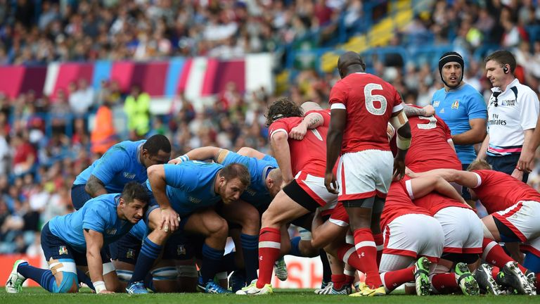 Italy remain competitive up front despite their pack's advancing years