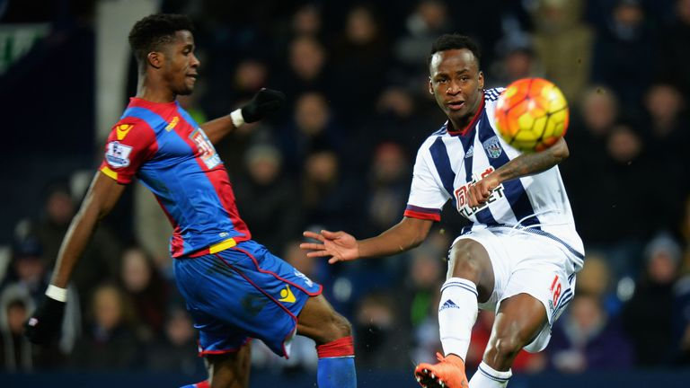 Saido Berahino scored in the win over Palace