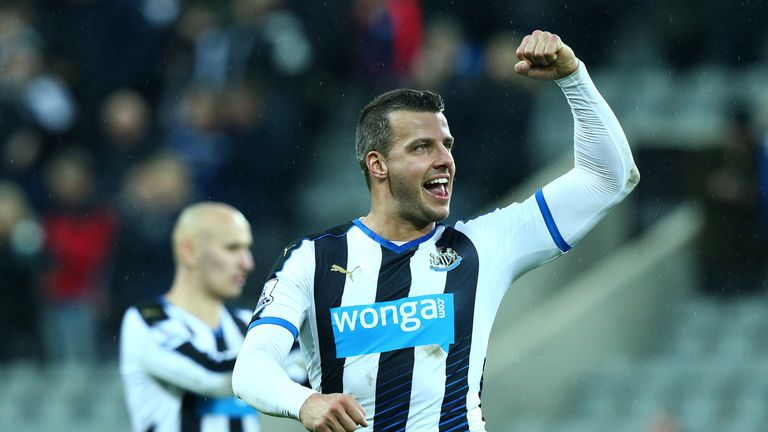 Steven Taylor celebrates at the final whistle