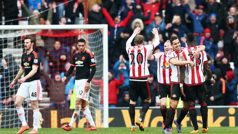 David de Gea's own goal saw Sunderland secure a 2-1 victory on Saturday