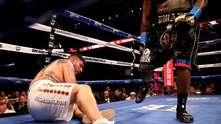 Chris Arreola was stopped by Bermane Stiverne in his last world title shot