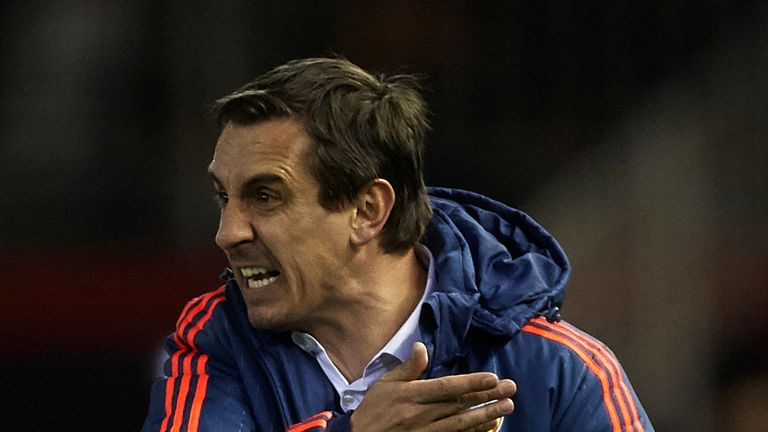 Gary Neville: His Valencia side suffered a heavy loss