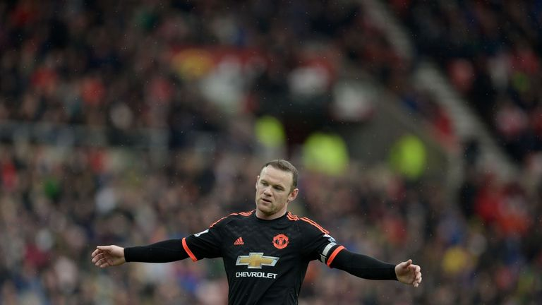 Wayne Rooney will miss Man Utd's trip to Denmark