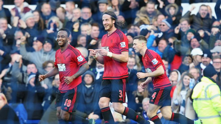 West Brom take on Crystal Palace on Saturday Night Football