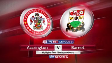 Accrington 2-2 Barnet