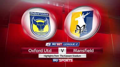Oxford 2-2 Mansfield