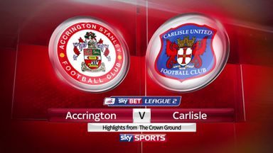 Accrington 1-1 Carlisle
