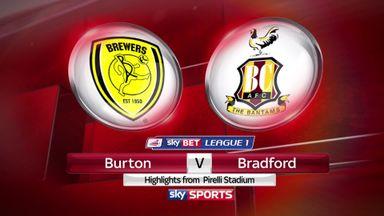 Burton 3-1 Bradford