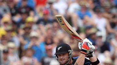 Brendon McCullum hit a quick-fire 47 in his final ODI