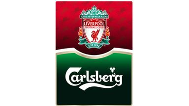 Carlsberg is the official beer of Liverpool FC