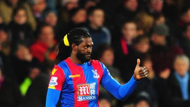 Scott Dann believes Emmanuel Adebayor can be a pivotal player for Crystal Palace until the end of the season
