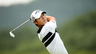 Danny Lee is looking good with 18 holes left at the Phoenix Open