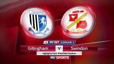 Gillingham 0-0 Swindon